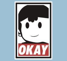 """Ness OKAY (""""OBEY"""") Kids Tee"""