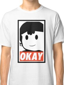 "Ness OKAY (""OBEY"") Classic T-Shirt"