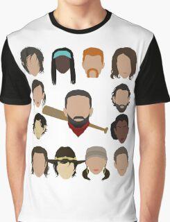 Who did Negan kill? Graphic T-Shirt