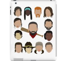 Who did Negan kill? iPad Case/Skin