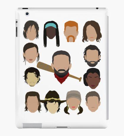 Who did Negan kill? iPad Case/Skin