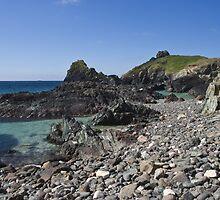 A rocky shore by Steve plowman
