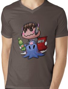 Mimikyu D.Va Mens V-Neck T-Shirt