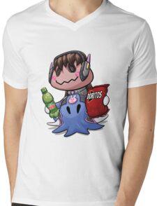 Mimikyu D.Va Mens V-Neck T-Shirt
