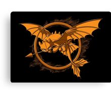 Dragon Games Canvas Print