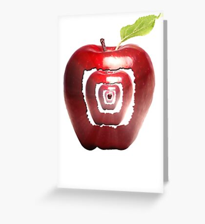 growing apples from apples Greeting Card