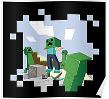 Minecraft Skill #67: Camouflage Poster
