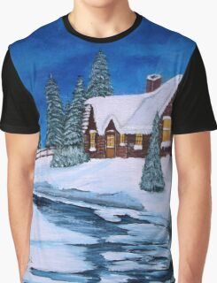 Winter landscape-1 Graphic T-Shirt
