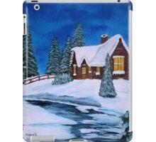 Winter landscape-1 iPad Case/Skin