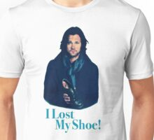 supernatural sam winchester jared padalecki moose i lost my shoe Unisex T-Shirt
