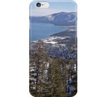 Lake Tahoe From Maggie's Peaks iPhone Case/Skin