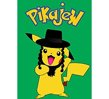 Pikachu - Pikajew , Pokemon Photographic Print