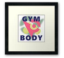 Pokemon Gym Body Framed Print