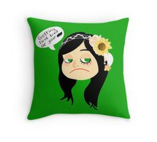 Zukki Out Throw Pillow