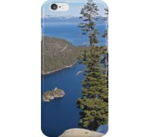 Emerald Bay From Way Above iPhone Case/Skin