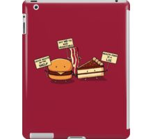 Occupy Stomach iPad Case/Skin