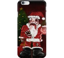 Zombie Santa iPhone Case/Skin