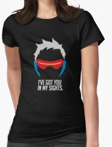 Ive got you in my sights Womens Fitted T-Shirt