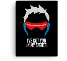 Ive got you in my sights Canvas Print