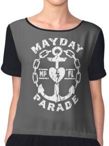 mayday parade logo Chiffon Top