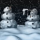 Mean Snowman by mdkgraphics