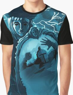THE LOOKING GLASS KNIGHT Graphic T-Shirt