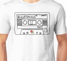 HEART BREAKER (White) Unisex T-Shirt