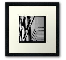 corner detail Framed Print