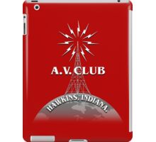 Hawkins A.V. Club iPad Case/Skin