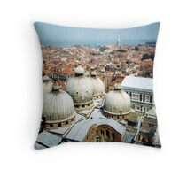 5 domes Throw Pillow