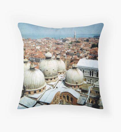 5 domes Throw Pillow