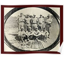 Ark Valley Gas Company Baseball Team -1924 Poster