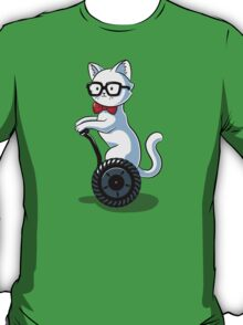 White and Nerdy T-Shirt