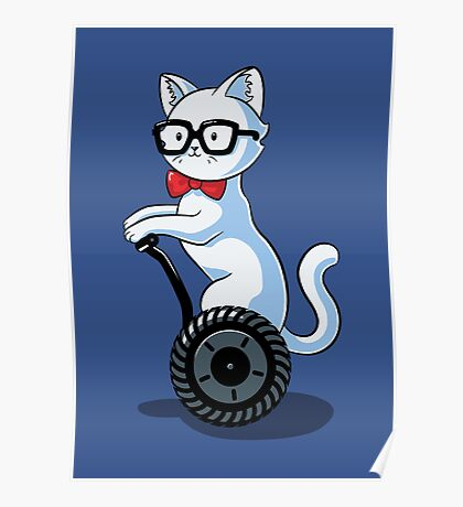 White and Nerdy Poster