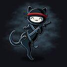 Ninja Cat by Stephanie Jayne Whitcomb