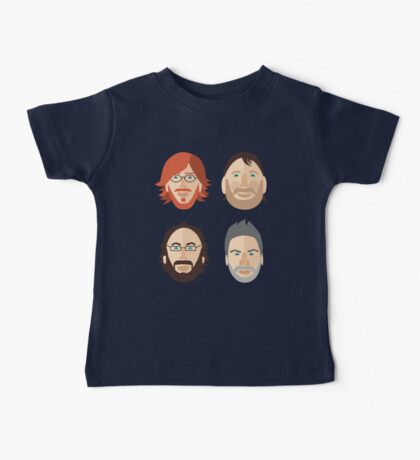 Trey, Fish, Mike, Page as Vector Characters Baby Tee