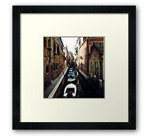 boat line Framed Print
