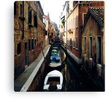 boat line Canvas Print