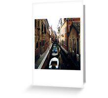 boat line Greeting Card