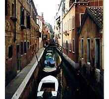 boat line Photographic Print
