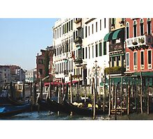gondolier office Photographic Print