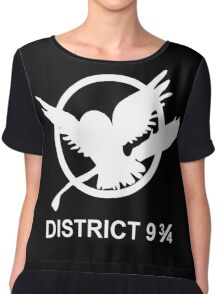 District 9 3/4 Chiffon Top