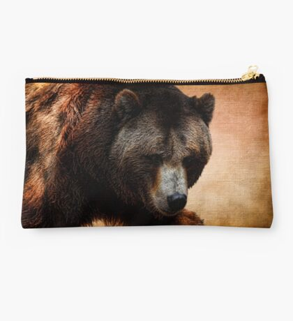 Grizzly Bear Studio Pouch