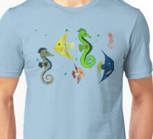 Fish mural copy right 2015 Unisex T-Shirt
