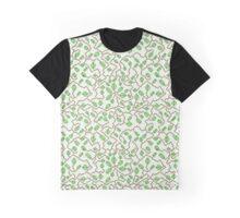 Leafy Design Graphic T-Shirt