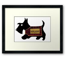 Commonwealth Games Opening Ceremony Scottie Dog Framed Print