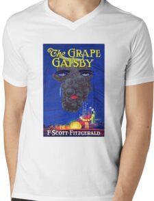 The Grape Gatsby Mens V-Neck T-Shirt
