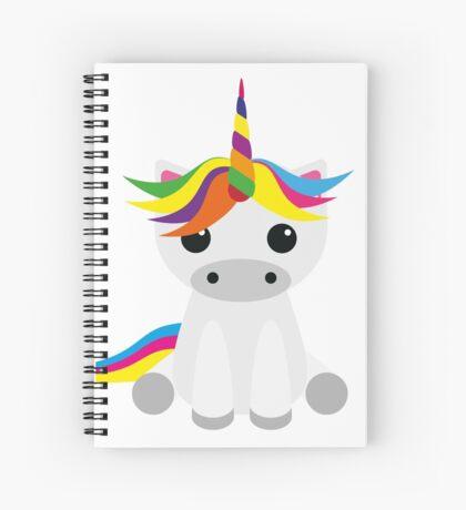 Graphic Unicorn Spiral Notebook