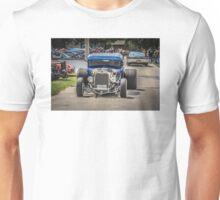 Street Rod Blue coupe Unisex T-Shirt