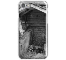 Basement door iPhone Case/Skin